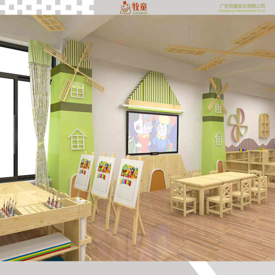 2018 Ce Approved No Smell No Taste Kids Home Library Furniture