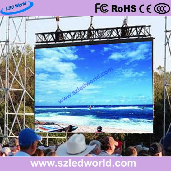 Outdoor / Indoor Full Color High Brightness LED Display Panel for Advertising