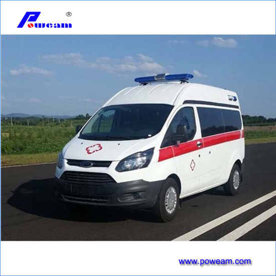 Hospital Patient Transport Ambulance with Simple Medical Equipment