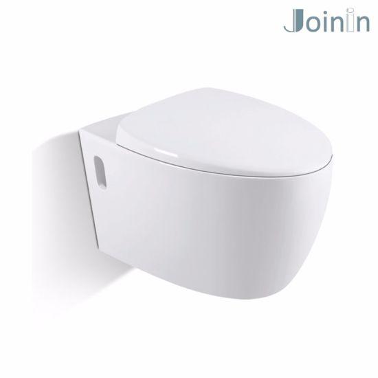 Sanitary Ware Bathroom Water Closet Ceramic Wc Wall Hung Toilet From  Chaozhou (JYA07)