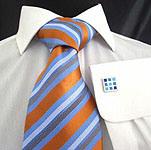 Men's Fashion Colour Woven Silk Necktie