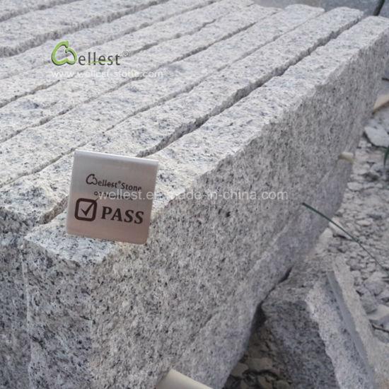 China Grey Granite Curbs, Granite Kerb Stone, Road Kerbs