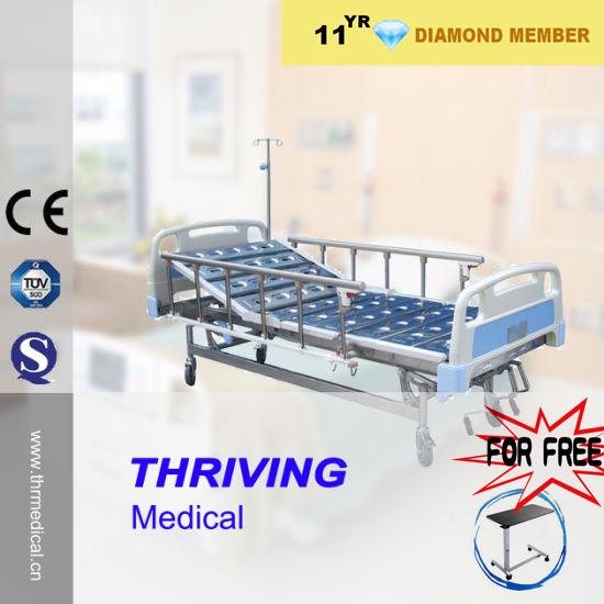 3 Cranks Manual Luxurious Hospital Bed (THR-MLB106)