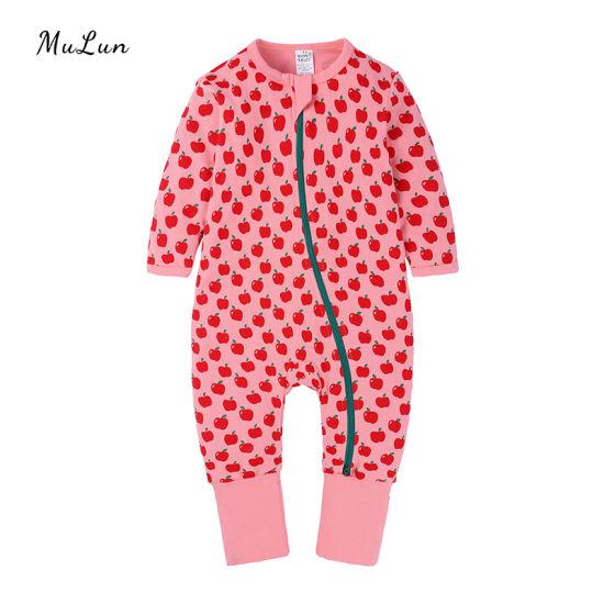 Wholesale Baby Girl Velour Romper Girl Onesie for Autumn Winter Baby Jumpsuit