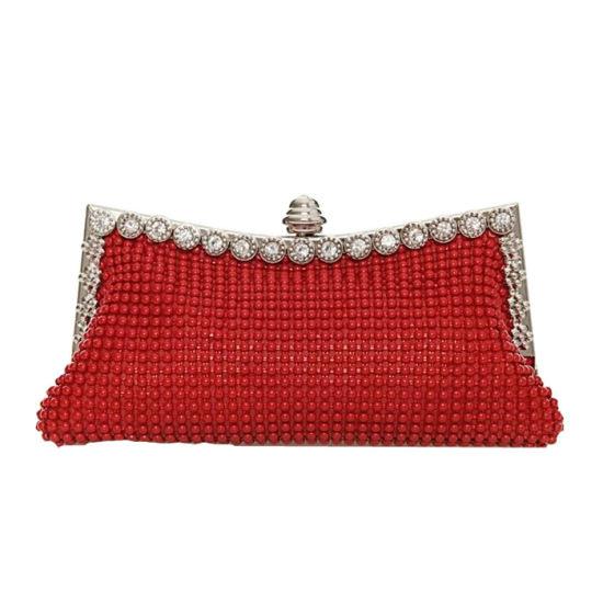 China Fashion Crystal Lady Frame Purse Party Bag 52335145de9f1