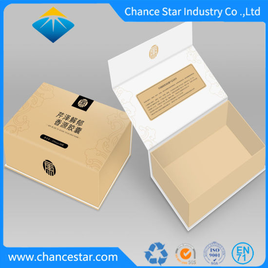 Custom Electronic Products Packaging Magnetic Closure Paper Cardboard Box