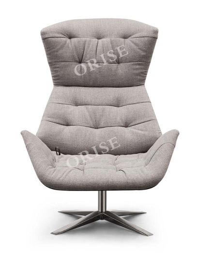 Modern Design Home Furniture Lether Leisure Chair with/Without Ottoman for Living Room