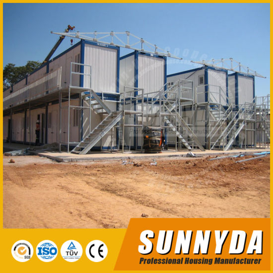 Well Decoration 20FT Standard Customized Prefab Container Homes Building (SU-B103)