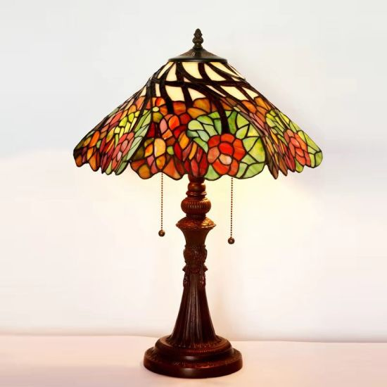 Nordic Style Table Lamp Tiffany Desk Lamp for Home Decor