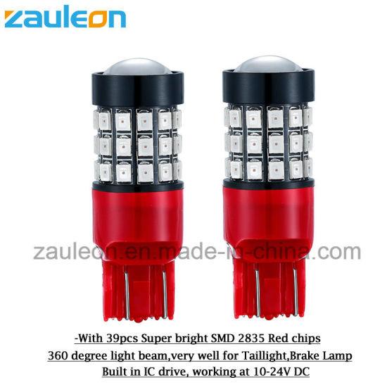 Ultra Bright Red LED Bulb W21/5W 7443 for Car Rear Brake Light