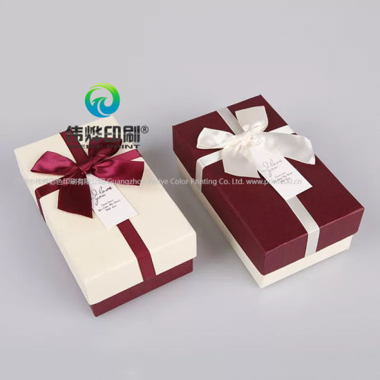 China Custom Printing Wedding Favors Gifts Packaging Boxes China