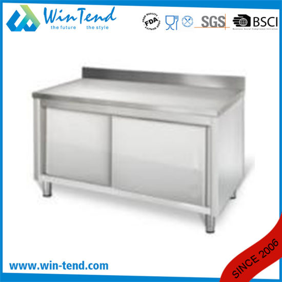 Commercial Kitchen Cabinet with Modern Designs for Kitchen Using pictures & photos