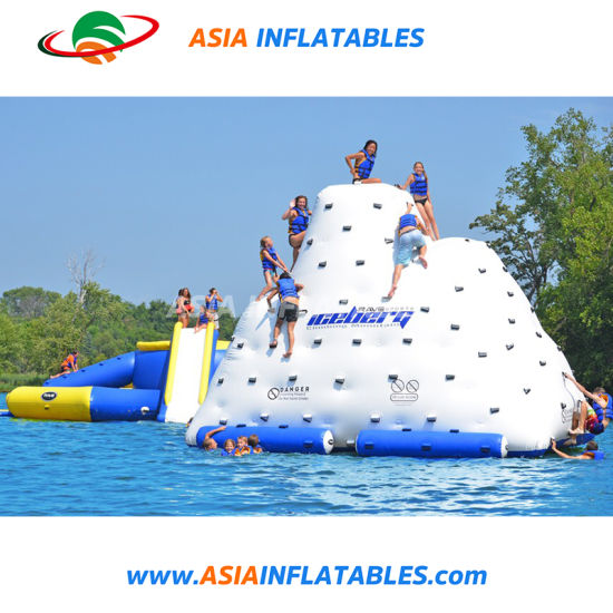 Water Prak Water Game Inflatable Kids Climbing Toys, Floating Iceberg pictures & photos