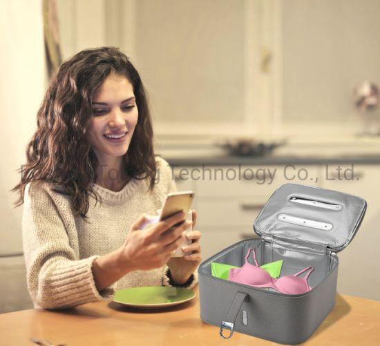 Popular Multi-Function Disinfection UV Sterilizer Bag UVC Sanitizer Cleaner Box Portable UV Sterilizer