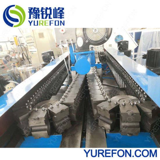 PE PP PVC Corrugated Pipe Extruder Line for Air Conditioning Condensate Water Drainage System pictures & photos
