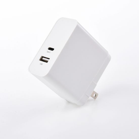 Factory Supply 30W Wall Charger with 2 Ports QC3.0 Fast Charger for Phone and Pad
