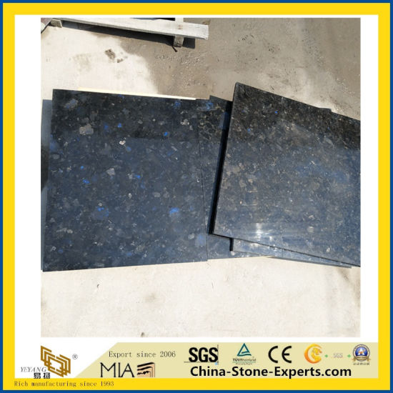 Volga Blue Ukraine Diamond Granite Flooring Tile/Slab pictures & photos