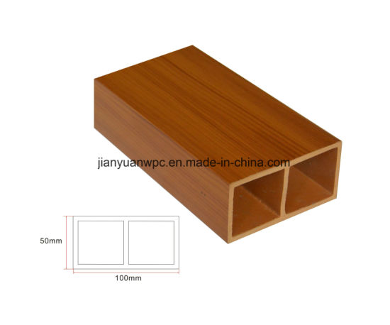 China Laminated Wood Plastic Composite Wpc Profile For Railing