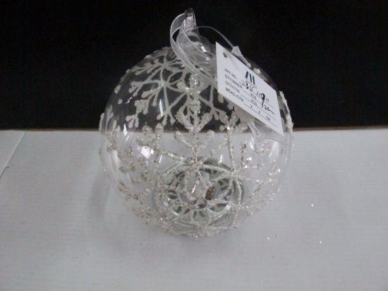 Christmas Glass Ball with LED Light