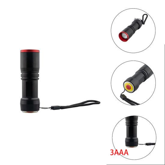 COB LED Flashlight with Emergency Light 12-CH1875