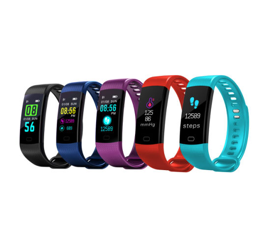 Fashion Y5 Fitness Sport Smart Watch Bracelet Wristband with Bluetooth pictures & photos