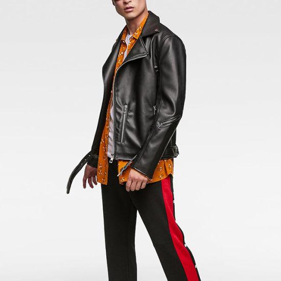 318dc9d3e China New Design Custom Biker Jacket Coat Men Winter Leather Jacket ...
