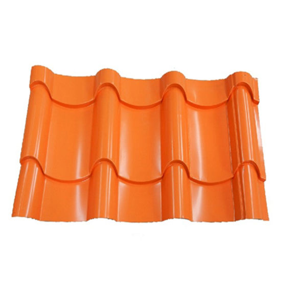Building Material Color Corrugated PPGI Metal Roof Sheet