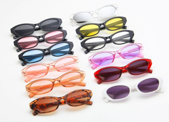 2019 Small Sunglasses Women Designer Crystal Sun Glasses UV400 pictures & photos