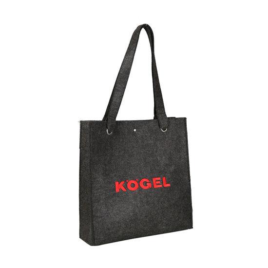 Fashion Tote Bags Women Handbags Felt Reusable Shopping Bag