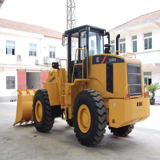 Liugong New 5 Ton Front Ned Loader Zl50cn