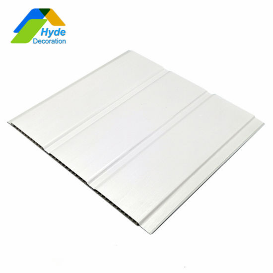 250/300mm Double Groove Laminated PVC Wall Panel Ceiling Decoration HD-27