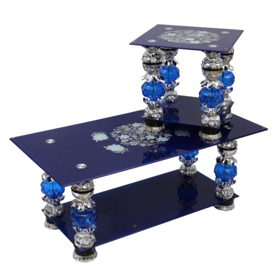 Glass Coffee Table 1+2 1+6 Sets Hot Selling to Africa, Middle East, Indonesia, India and Philippine New Design 2019 Coffee Table pictures & photos