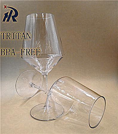 400nl Tritan Goblet Margarita Glasses