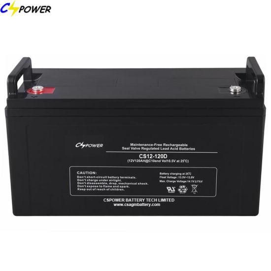 Maintenance Free Bateria 12V 120ah Lead Acid VRLA AGM Battery