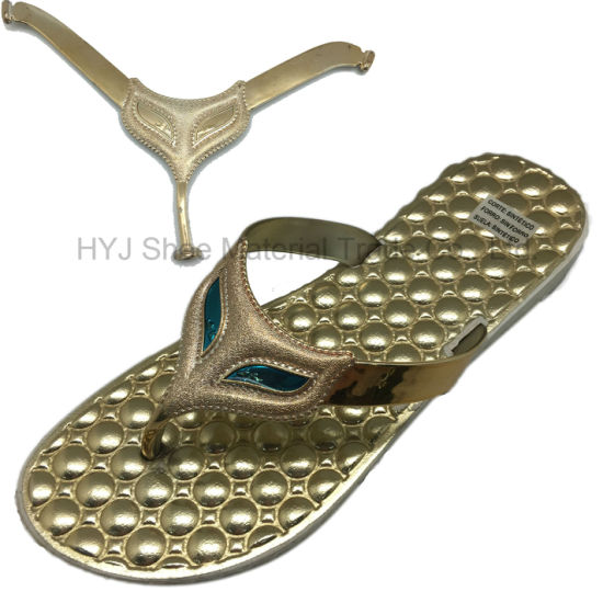 TPU/PVC Shoe Upper Shoe Accessories for Slipper Sandals