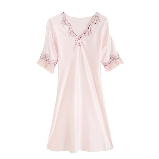 Wholesale Fashion 100%Silk Sleepwear Pajamas