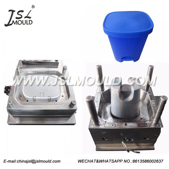 Customized Injection Plastic Trash Bin Mould pictures & photos