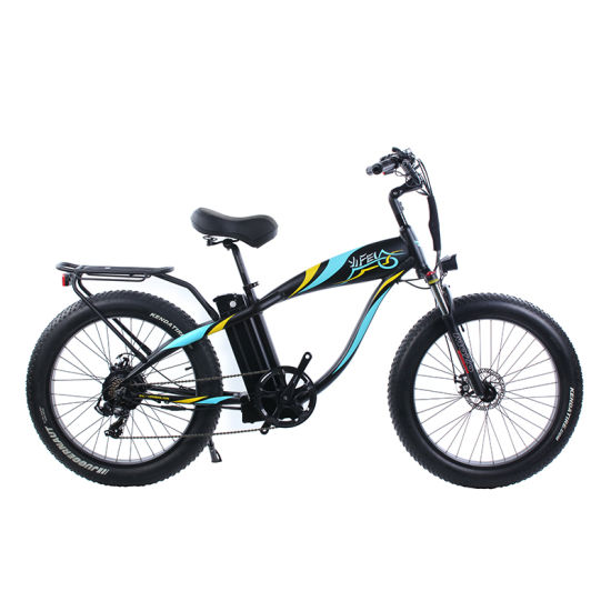 750W 48V 20ah Fat Tire Electric Bike 26 Inch E Bike Electric Bicycle with Lithium Battery