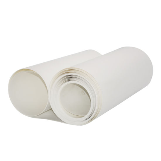 China 0 5mm White ESD Matte Rigid Pet Film Roll for Thermoforming