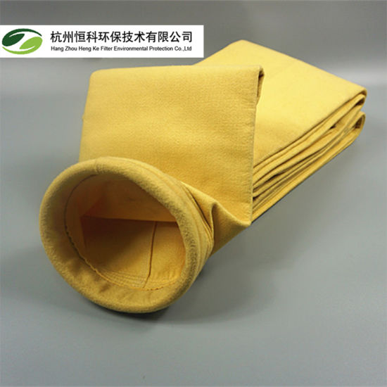 High Temperature P84 Needle Punched Filter Felt Bag for Dust Collection