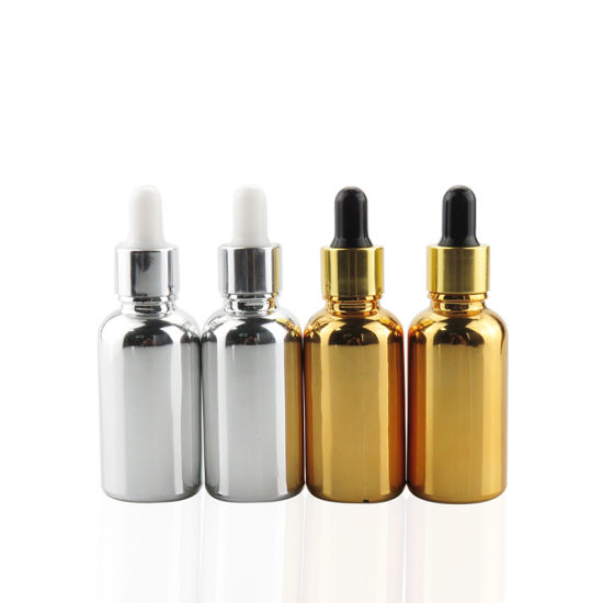 f27d6d908994 China 30ml Silver Metallic Dropper E Liquid Bottle Eliquid ...