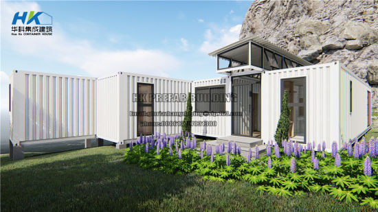 4X40FT Luxury Modern Design Prefab/ Prefabricated Shipping Container House pictures & photos