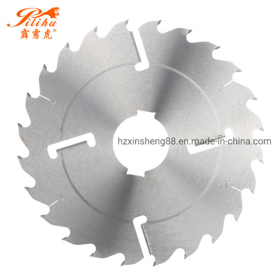Tct Carbide Multi Ripping Circular Saw Blade with Rakers for Cutting Wood