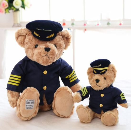 High Quality Factory Customized Happy Mother's Day 13 Inch Plush Teddy Bear