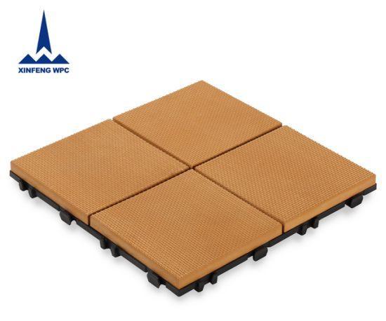 Reach Cerificate WPC DIY Interlocking Outdoor Decking Tile