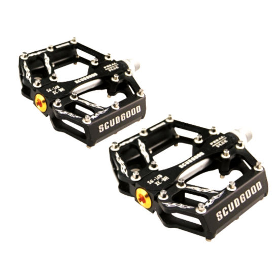 Mountain bike pedals Cycling Road MTB Bicycle Pedals Flat Platform 9//16 in