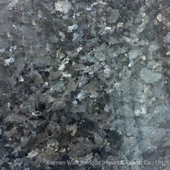 Green Pearl and Smooth Surface with Rich Texture Granite Use for Interior Decoration and Bathroom