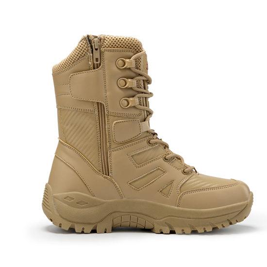 China Mens Army Jungle Boot Waterproof