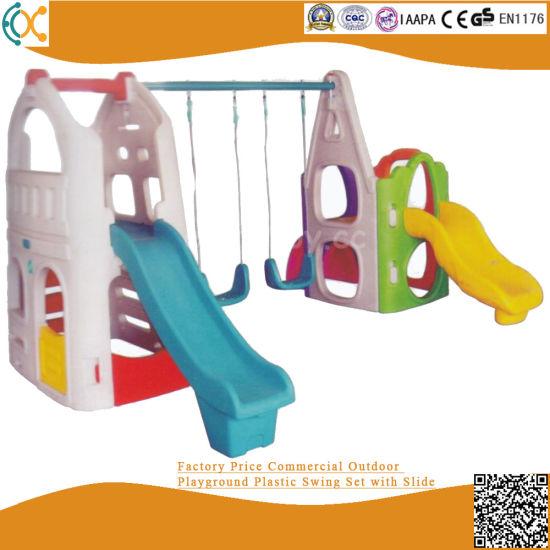 China Children Outdoor Plastic, Plastic Playground Set