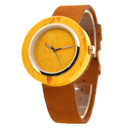 Wholesale New Men's Watch Fashion Retro Watch Waterproof Natural Marble Luminous Leather Strap Watch